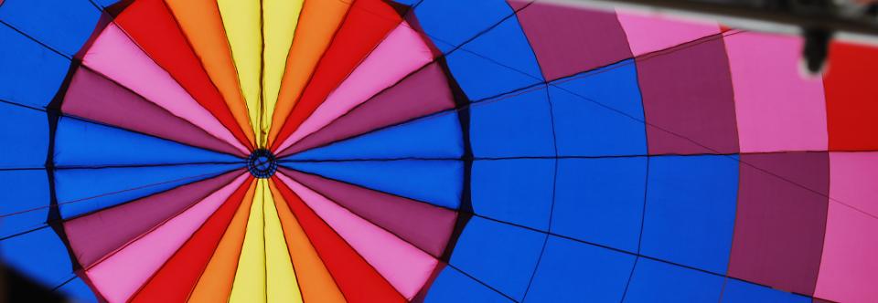 main slider looking at parachute