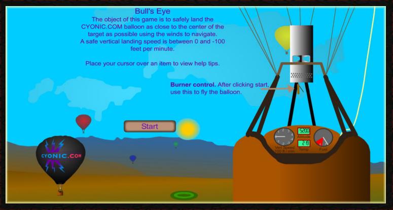 hot air balloon games tutorial somethinggreat llc